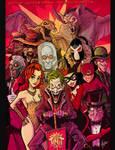 BATMAN VILLAINS by Hartman