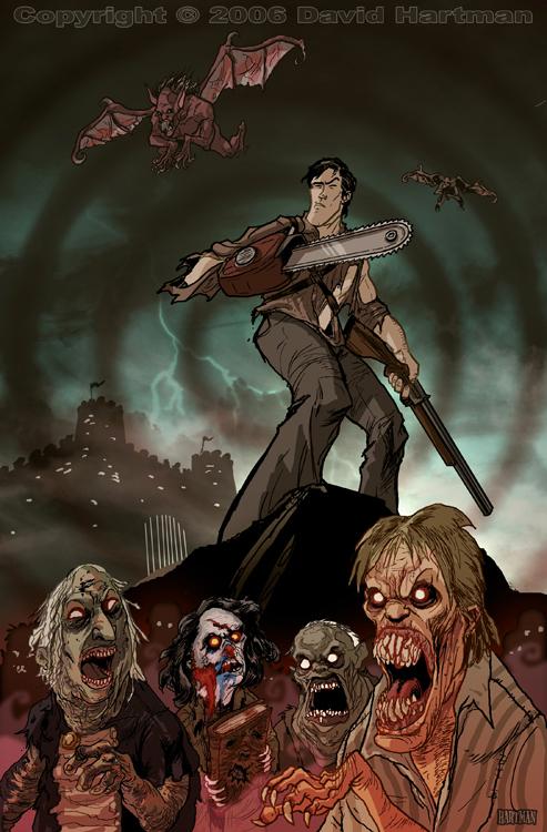 EVIL DEAD by Hartman