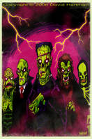 MAN MADE MONSTERS by Hartman by sideshowmonkey