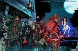 CREEP NIGHT by Hartman by sideshowmonkey