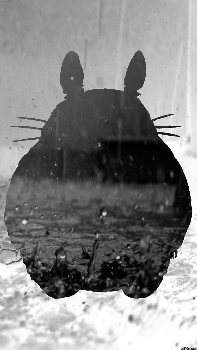 Totoro IPhone 5s Wallpaper By Owlboy68