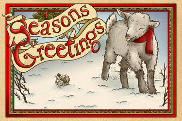 Holiday Cards 2011 - Season's Bleatings