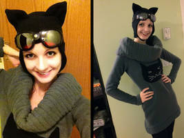 Catwoman Sweater Costume by Tatter-Hood