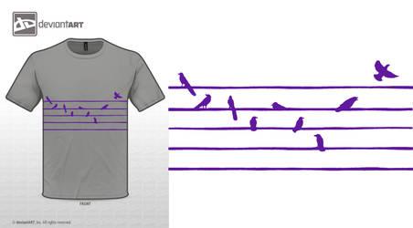 Composing birds 2
