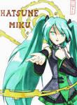 Hatsune Miku - Copic