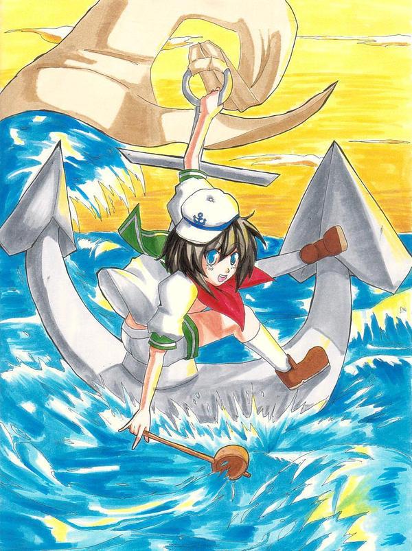 Captain Minamitsu Murasa by Banzatou