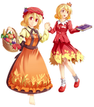 AWA Touhou Scroll Project: Aki Sisters