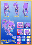Freedom Planet - Lilac Reference