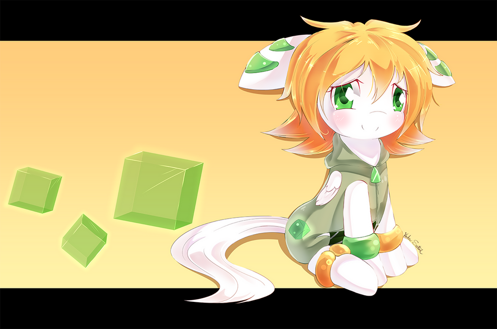 Freedom Planet - Milla (MLP style) by Banzatou