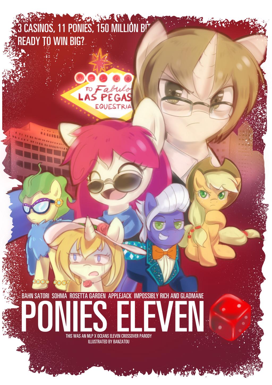 Ponies Eleven by Banzatou