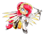 Commission - Bloom [Mercy Cosplay] (PiePinkie350)