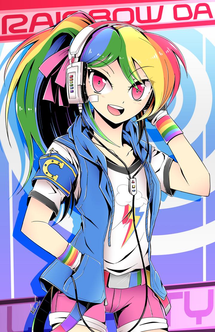 Rainbow Dash (Manga Style) By Banzatou ...
