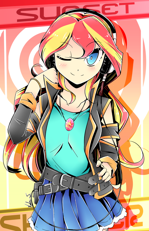 Sunset Shimmer (Manga Style) By Banzatou On DeviantArt