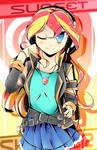 Sunset Shimmer (Manga Style)