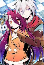 Riku and Shuvi (NGNL Zero) by Banzatou
