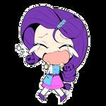Rarity Manga Style - Chibi