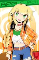 Applejack (Manga Style) by Banzatou