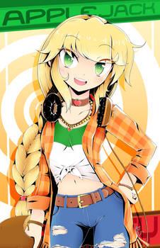 Applejack (Manga Style)