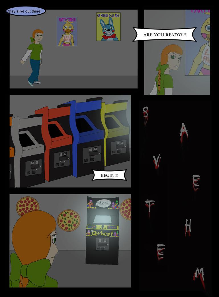 fnaf arcade machine