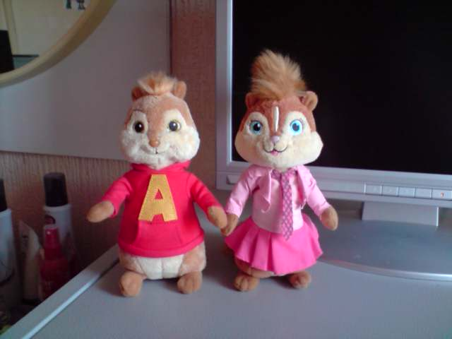 Alvin And Brittany Plushies By SkiffyKitten On DeviantArt