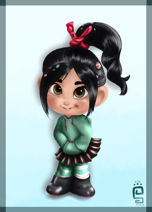 ~Vanellope~ by little-space-ace