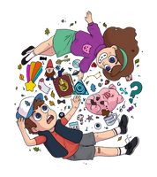 Mystery Kids Color by little-space-ace