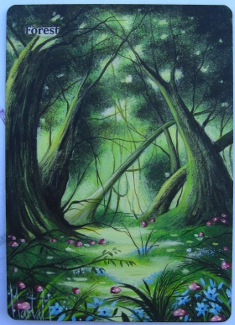 Mtg Forest by Magicandart