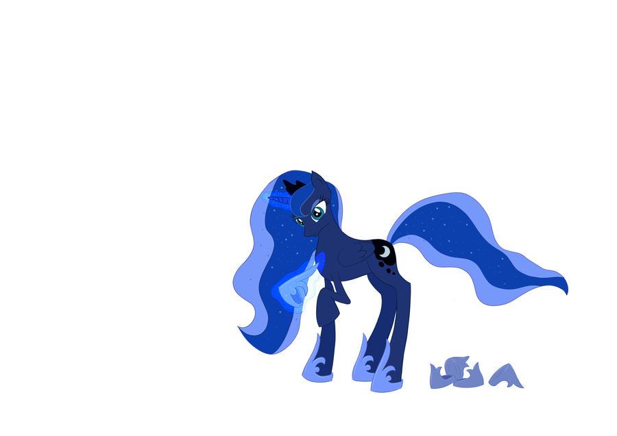 WIP: Nightmare Luna by Warfather77