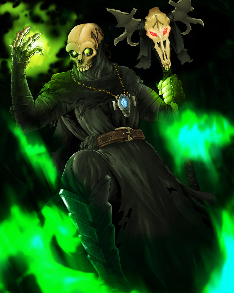 Necromancer by ArtOfTheAshenLord