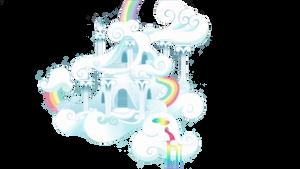 Rainbow Dash's house Vector