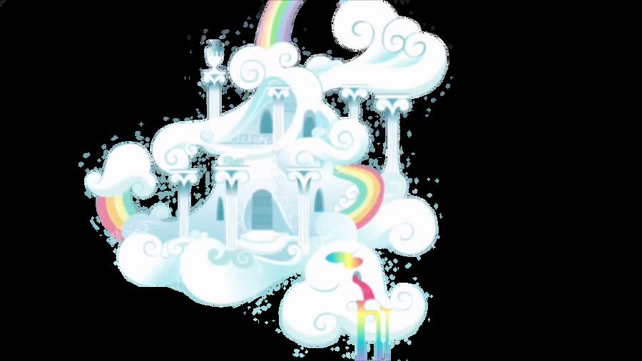 Rainbow Dash's house Vector by Darkkon13