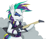 Rarity with guitar