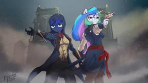 AC Unity Tia and Luna