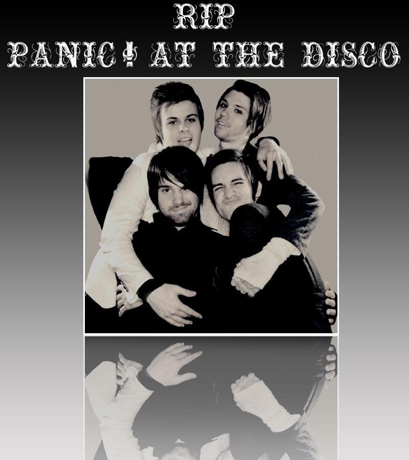 RIP Panic At The Disco By Lerkaa On DeviantArt