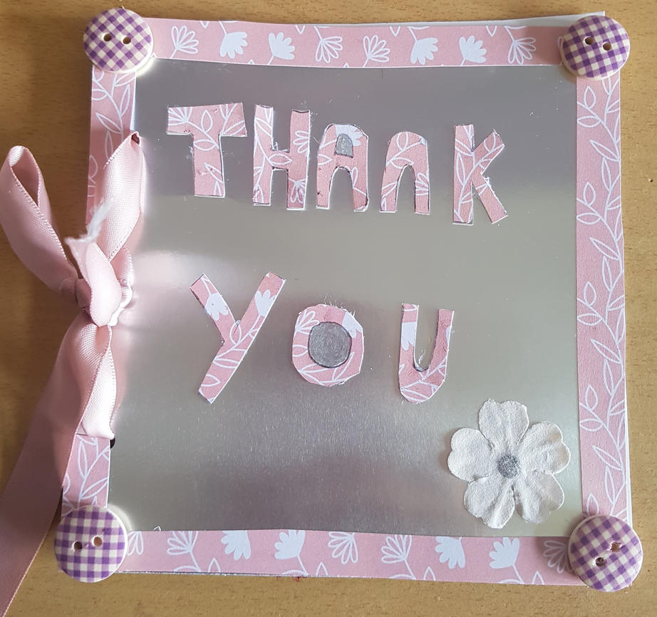 Thank you card. by MadameButterfly94