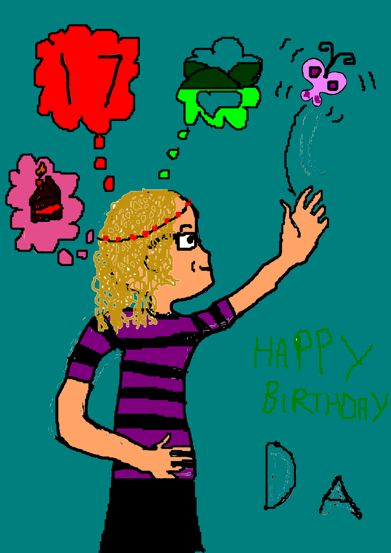 Happy birthday DA!! by MadameButterfly94