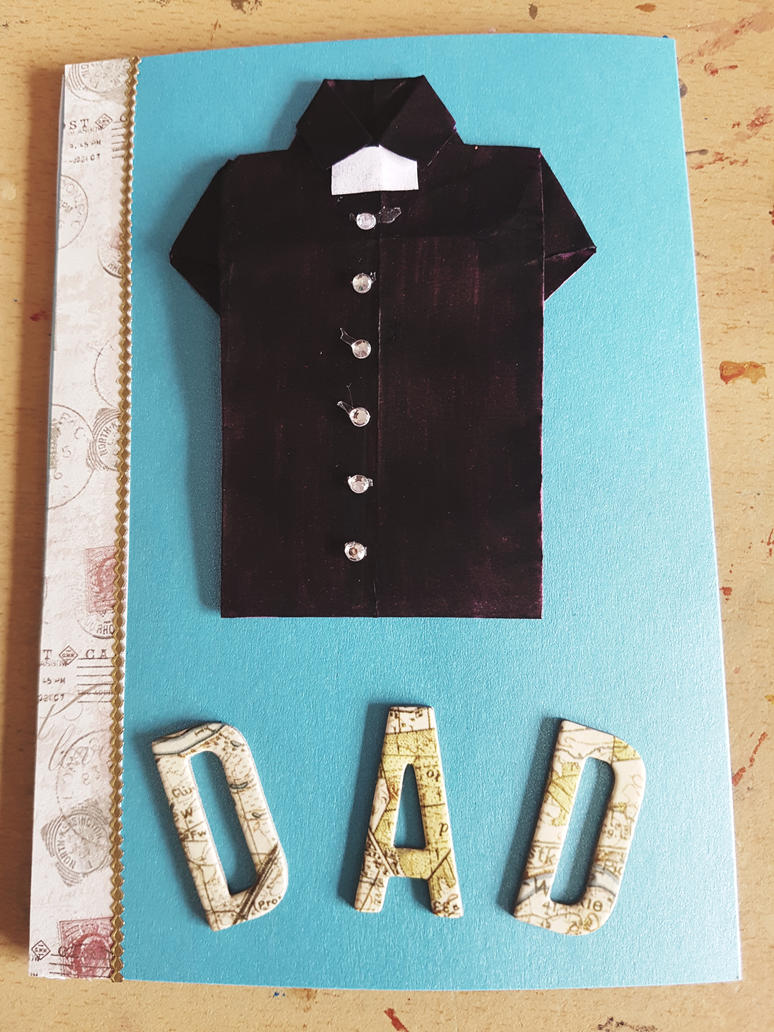 Fathers Day card. by MadameButterfly94