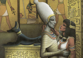 Isis And Osiris by Piombo