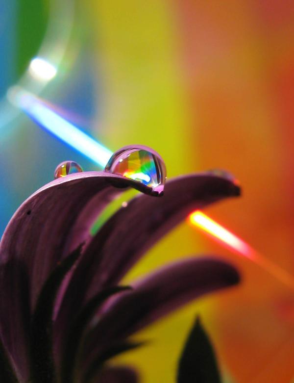 Laser Rainbow Drop by Piombo