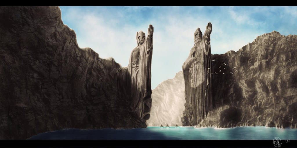 Council of Elrond » LotR News & Information » Argonath