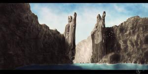 Argonath by Kreetak