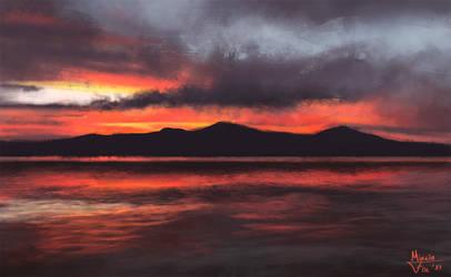 Sunset pride by Kreetak