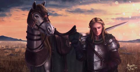 Eowyn of Rohan by Kreetak
