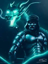 Overwatch Genji ft 300 by Kreetak