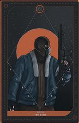 Tarot Card - The Division by Kreetak