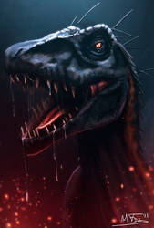 Indoraptor FanArt by Kreetak