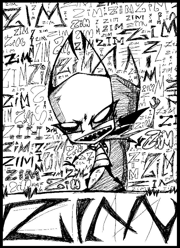 ZIM, ZIM... And some more ZIM. by robo-sapien