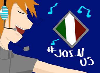 #JoinUs by RoadrollerDemon05