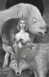 Wolf queen by Freezzelaj