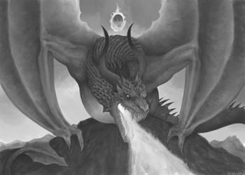 Dragon flame by Freezzelaj